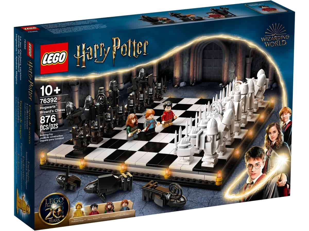 lego 76392 le jeu dechecs version sorcier de poudlard