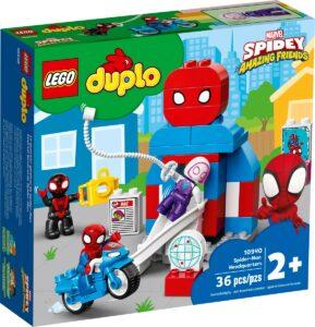 lego 10940 le qg de spider man