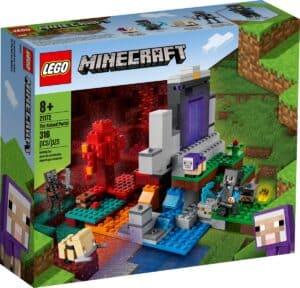 lego 21172 le portail en ruine
