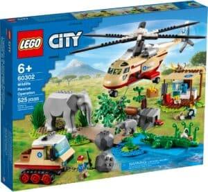 lego 60302 loperation de sauvetage des animaux sauvages