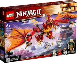 lego 71753 lattaque du dragon de feu