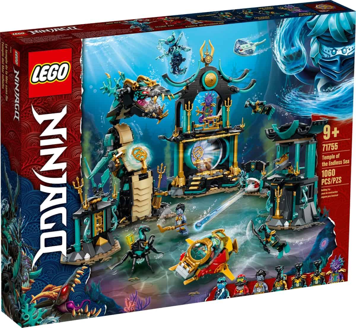 lego 71755 le temple de la mer sans fin
