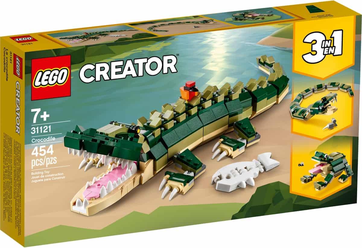 lego 31121 le crocodile