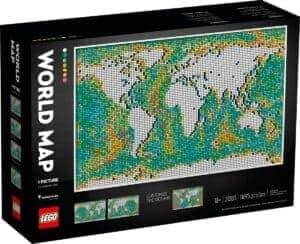 lego 31203 la carte du monde