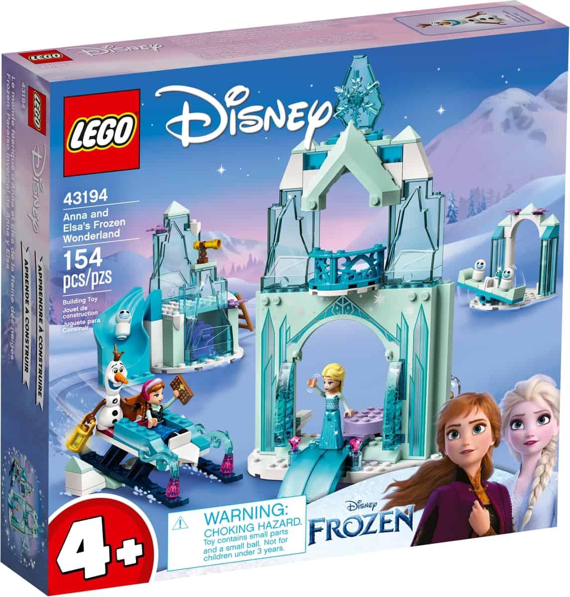 lego 43194 le monde feerique danna et elsa de la reine des neiges
