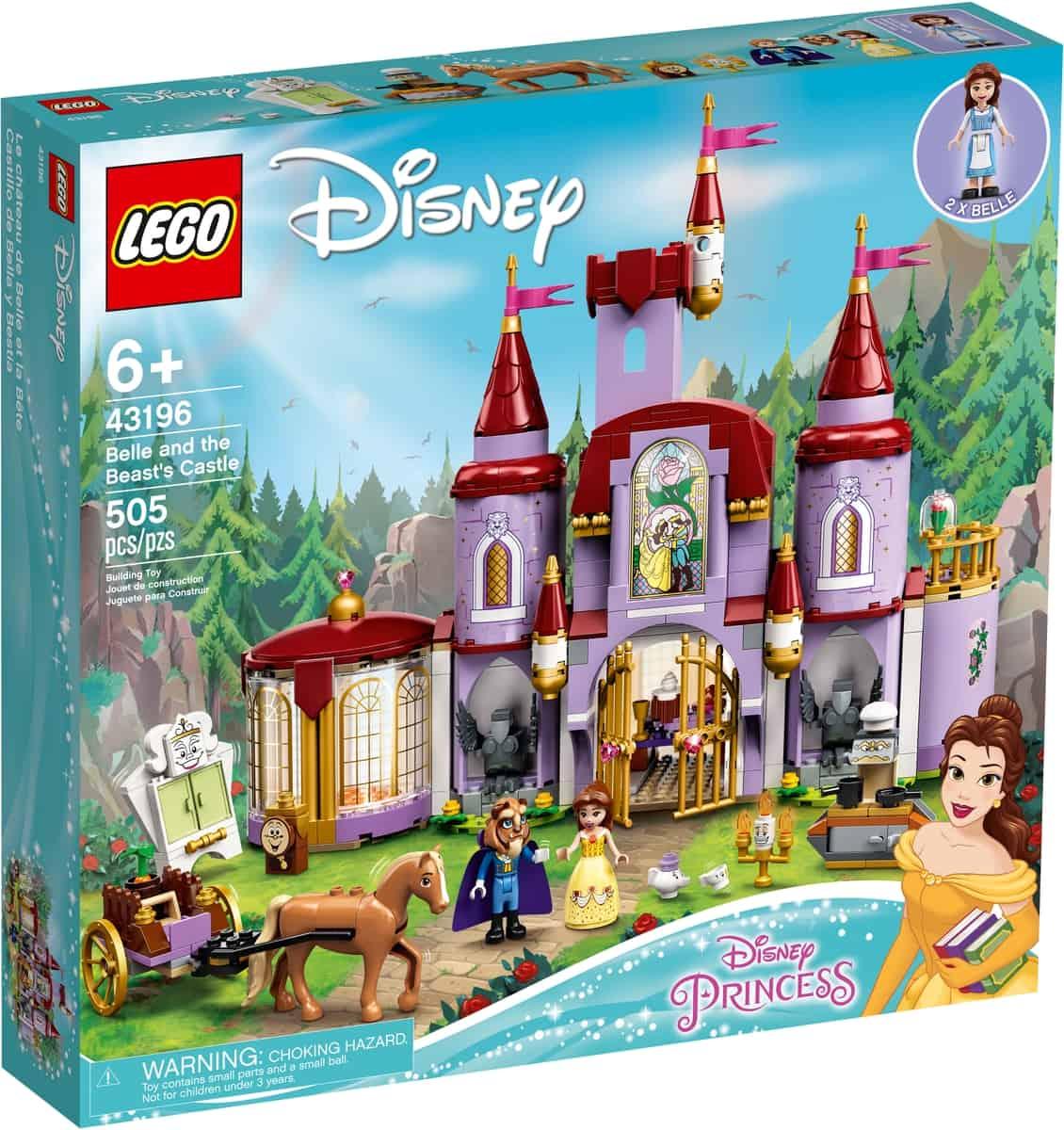 lego 43196 le chateau de la belle et la bete