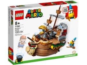 lego 71391 ensemble dextension la forteresse volante de bowser