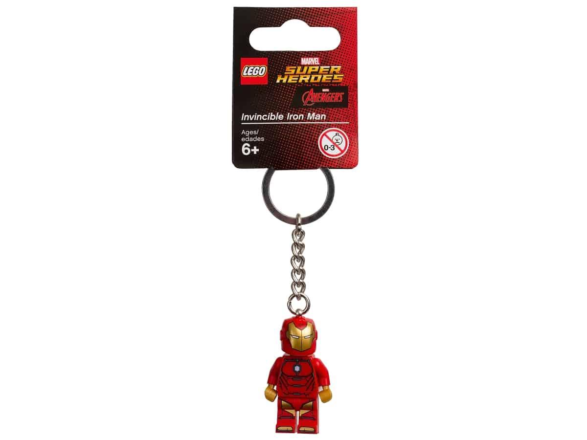 porte cles invincible iron man lego 853706 marvel super heroes