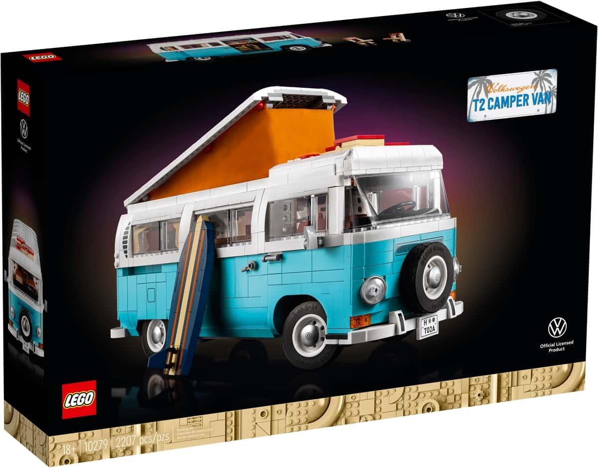 LEGO 10279 Le camping-car Volkswagen T2