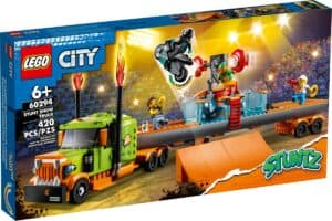 lego 60294 le camion de spectacle des cascadeurs