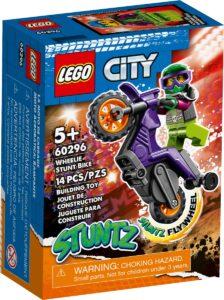 lego 60296 la moto de cascade roue arriere