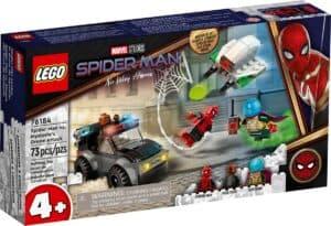 lego 76184 lattaque du drone spider man contre mysterio