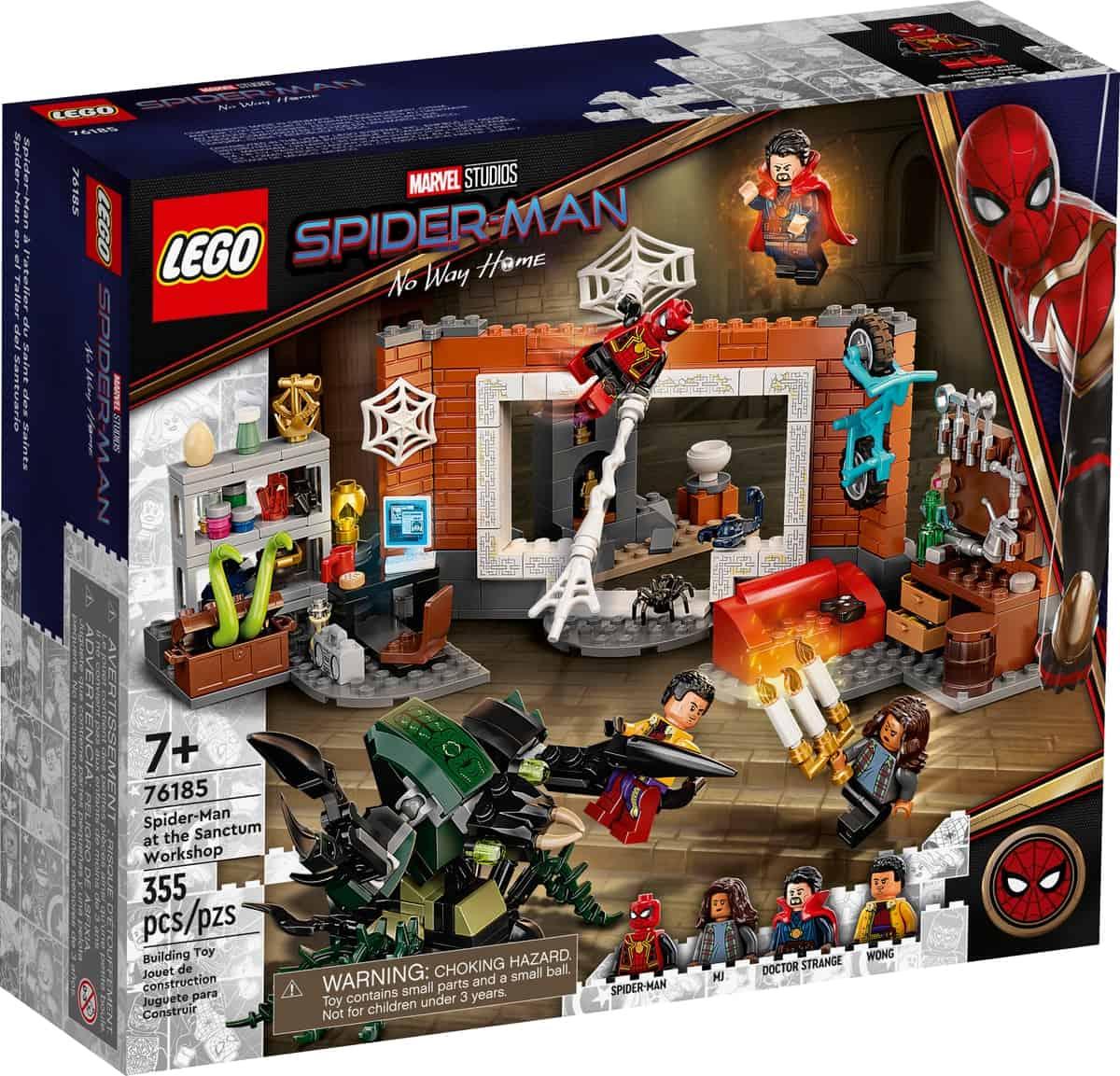 lego 76185 spider man dans latelier du saint des saints