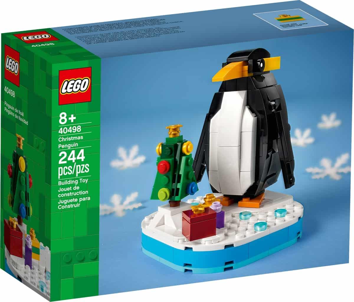 lego 40498 le pingouin de noel