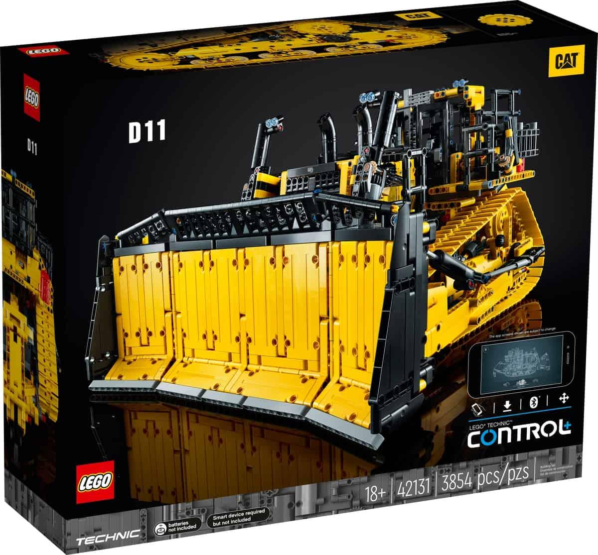 lego 42131 bulldozer d11 cat telecommande