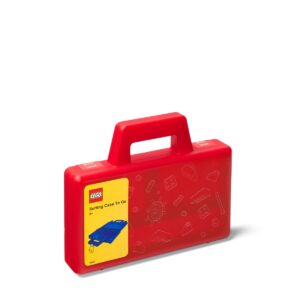 lego 5005769 boite de tri rouge transparente